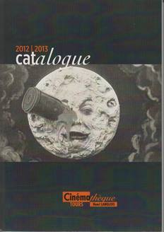 Couverture catalogue 12 - 13